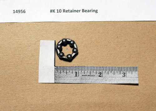 #K 10 Star Retainer Bearing