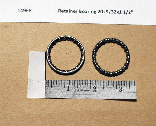 """Retainer Bearing 20x5/32x1 1/2"""""""