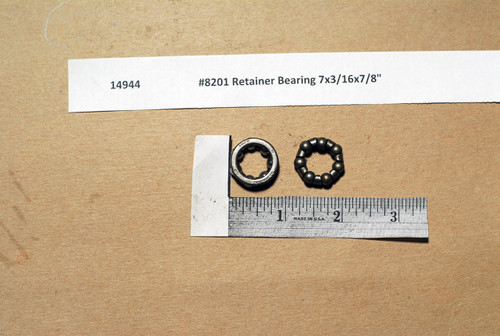 "#8201 Schwinn Retainer Bearing 7x3/16x7/8"""
