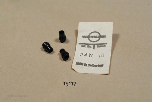 24W   Weinmann      Black Plastic Brake Cable fuerrule - each