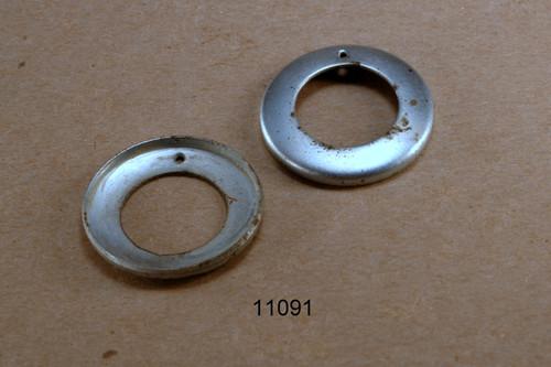 #740 Rear Hub dustcap galvanized 28mm - each