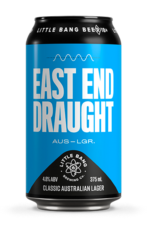 East End Draught (Classic Australian Lager)