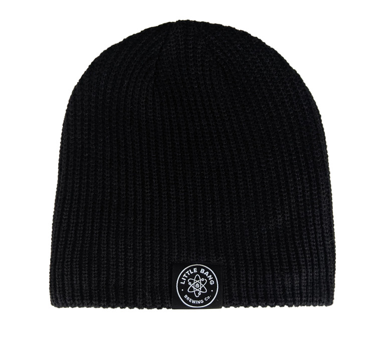 Little Bang Black Cable Beanie
