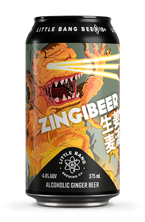 Zingibeer (Alcoholic Ginger Beer)