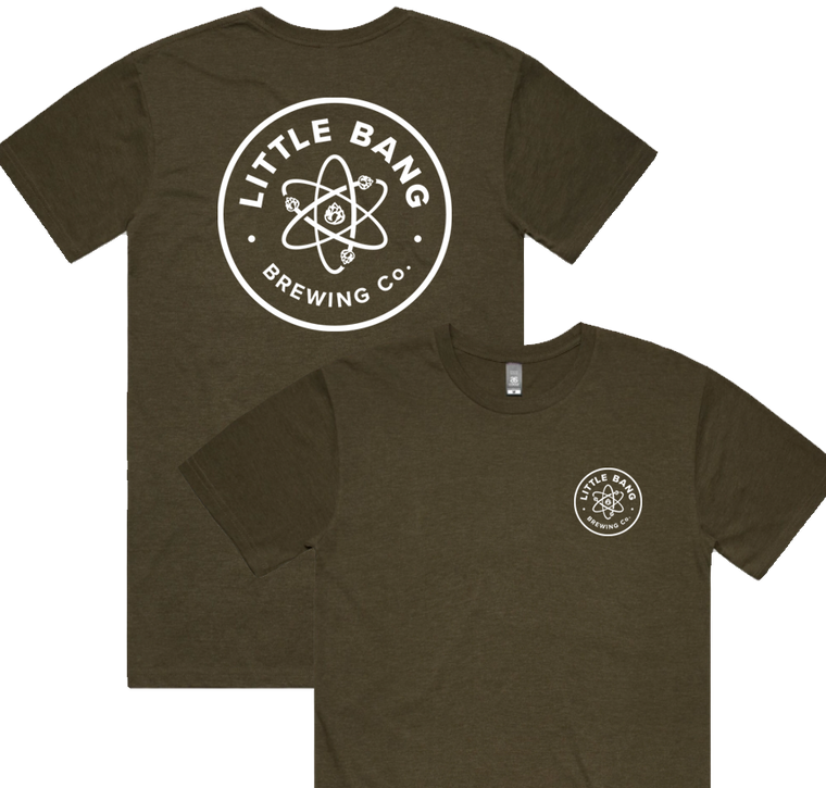 Little Bang Army Green Tee