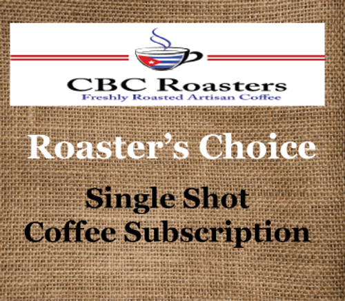 CBC Roaster's Choice Single Shot Coffee Subscription
