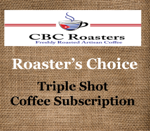 CBC Roaster's Choice Triple Shot Coffee Subscription