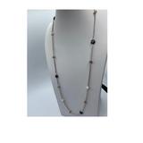 Designer Gemstone Chain with Quartz & FW Pearls Silver