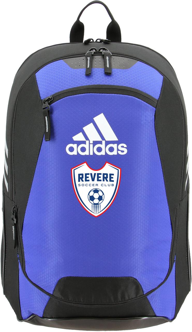d6b775a4d Revere SC Adidas Stadium 2 Team Backpack Logo & Name - ncsoccershop