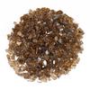 """1/4"""" Classic Copper Fire Glass: As shown non-reflective Tempered Copper Fire Glass."""