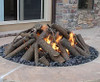 Warming Trends Steel Outdoor Log Set For Fire Pits