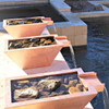 Bobe Smooth Copper Water Bowl Original Lip With Rock Fill Media