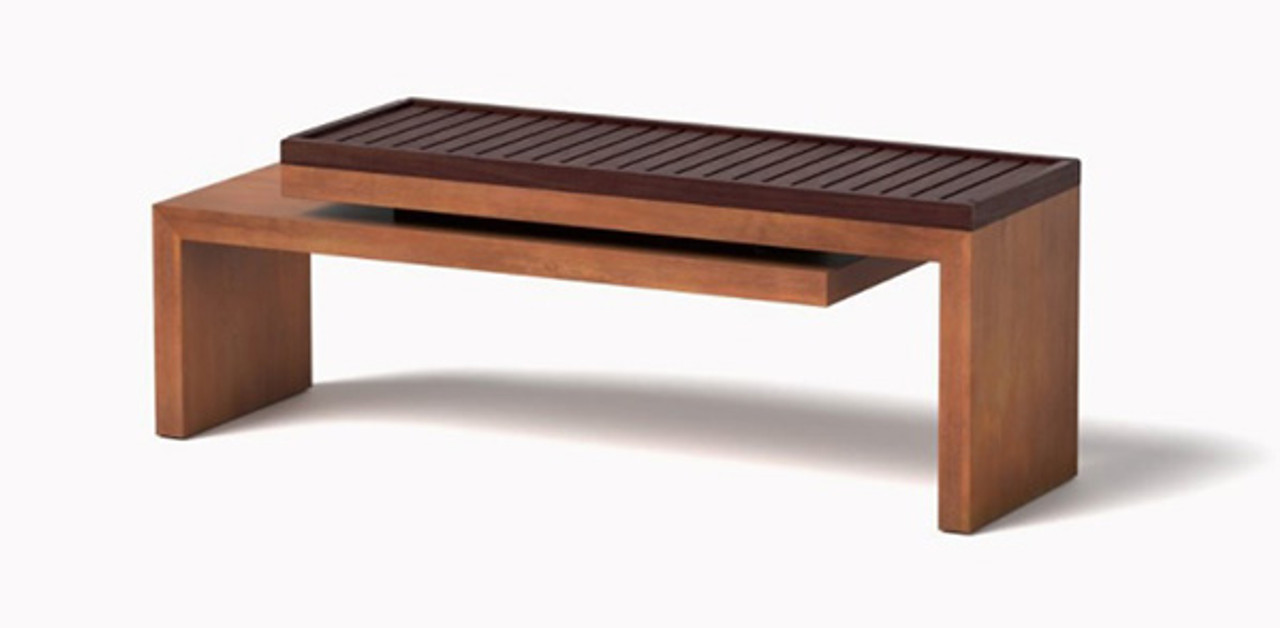 Swell Cantilever Bench Ipe Wood Slats Gmtry Best Dining Table And Chair Ideas Images Gmtryco