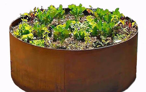 Edible Urban Container and Raised Planter Bed Gardens