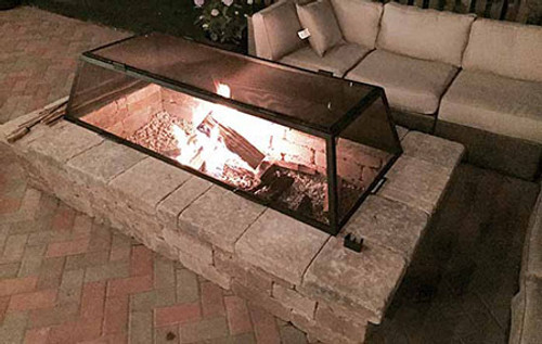 Fire Pit Spark/Safety Screens