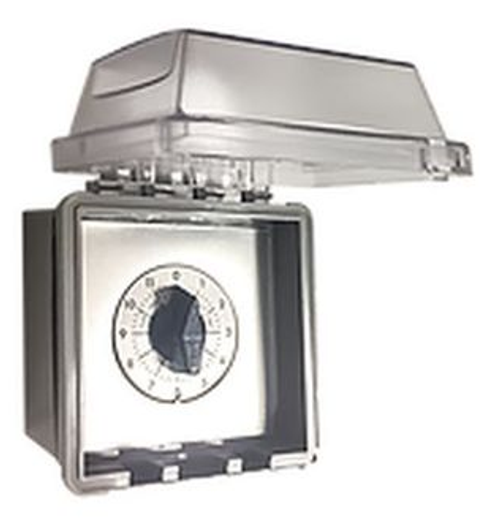2 Hour Dial Timer with NEMA Rated Enclosure
