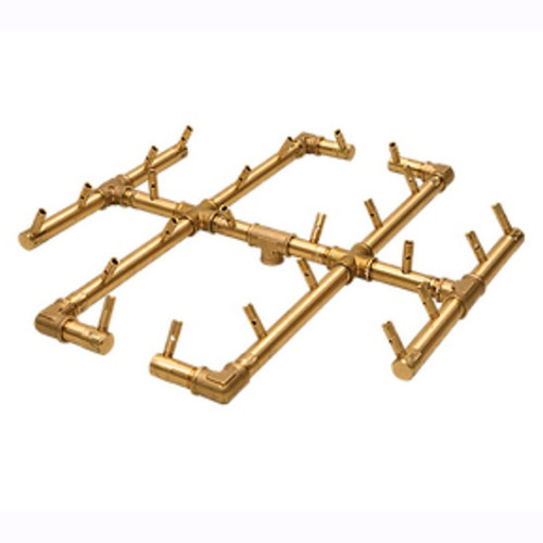 CFB240 Warming Trends Crossfire Brass Burner