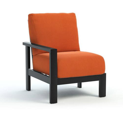 Homecrest_Elements_Modular_Right_Arm_Outdoor_Seating_Canvas_Rust_Onyx_Black