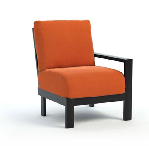 Homecrest_Elements_Modular_Left_Arm_Outdoor_Seating_Canvas_Rust_Onyx_Black