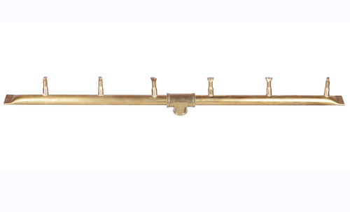 "The Outdoor Plus Linear Brass Bullet Buner OPT-B18BT: As shown Bullet burner in brass 18"" length."