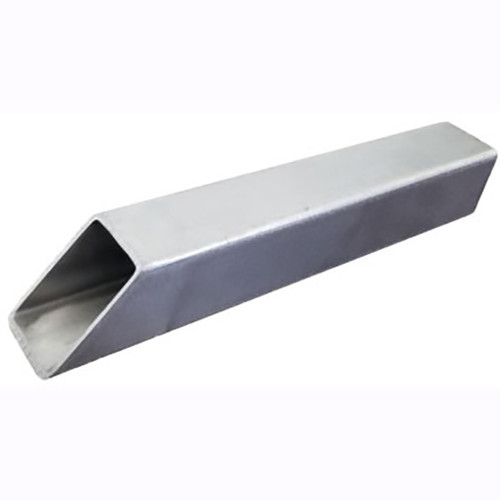 Bobe Square Tunnel Scupper: As shown 1.5 Inch in the 316 Stainless Steel Finish