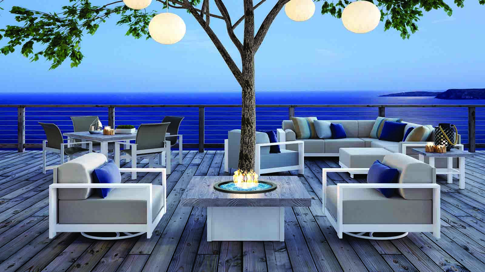 High quality outdoor gas fire tables and patio furniture