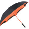 Orange - 48'' Colorized Manual Inversion Umbrella | Hardgoods.ca
