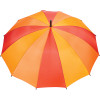 Red - 47'' 12 Panel Auto Open Fashion Umbrella | Hardgoods.ca