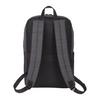 "Charcoal - NBN Whitby Slim 15"" Computer Backpack w/ USB Port   HardGoods.ca"