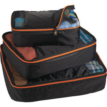 BRIGHTtravels Set of 3 Packing Cubes | Hardgoods.ca