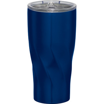 Blue - Hugo Copper Vacuum Insulated Tumbler 20oz | Hardgoods.ca