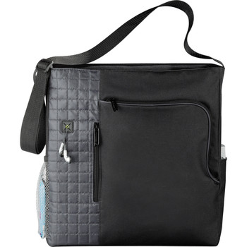 Verve Zippered Deluxe Business Shoulder Tote