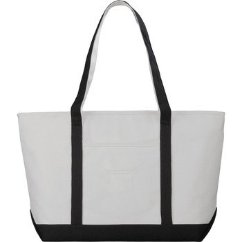 18 oz. Cotton Premium Zippered Boat Tote