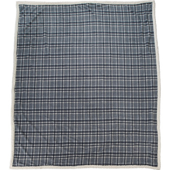 Grey Field & Co. Plaid Sherpa Blanket