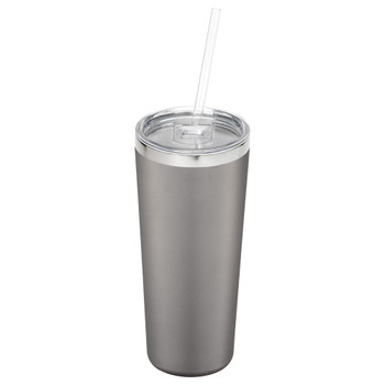 Grey - Thor Copper Vacuum Insulated Tumbler 22oz | Hardgoods.ca