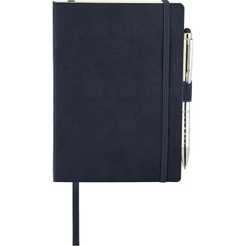 Navy - Revello Soft Bound JournalBook Bundle Set | Hardgoods.ca