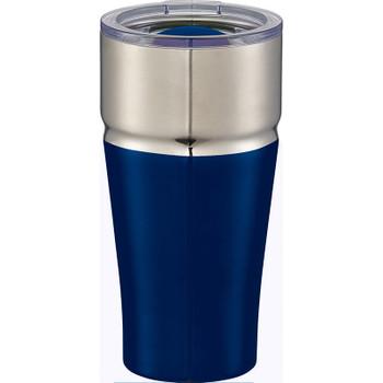 Blue - Milo Copper Vacuum Tumbler 20oz | Hardgoods.ca