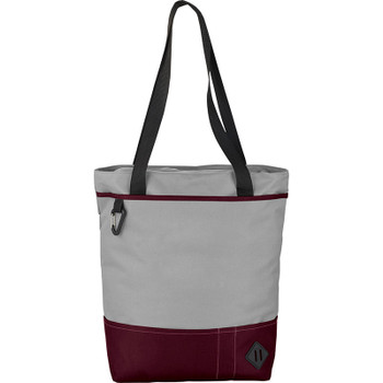 Red - Hayden Zippered Convention Tote | Hardgoods.ca