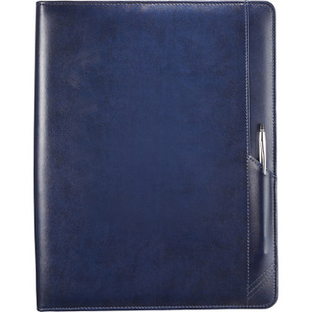 Navy- Cross Classic Zippered Padfolio | Hardgoods.ca