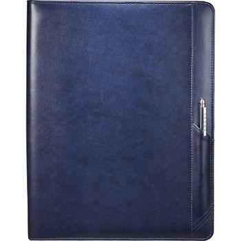 Navy - Cross Classic Zippered Padfolio Bundle Set | Hardgoods.ca