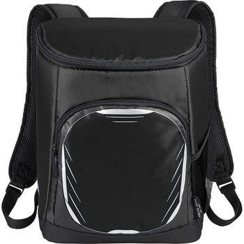 Black - Arctic Zone 18 Can Cooler Backpack | Hardgoods.ca