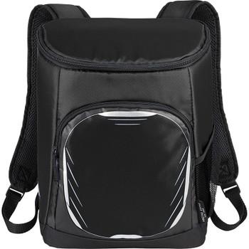Black - Arctic Zone 18 Can Cooler Backpack | Hardgoods.ca