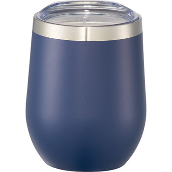 Navy - Corzo Copper Vacuum Insulated Cup 12oz | Hardgoods.ca