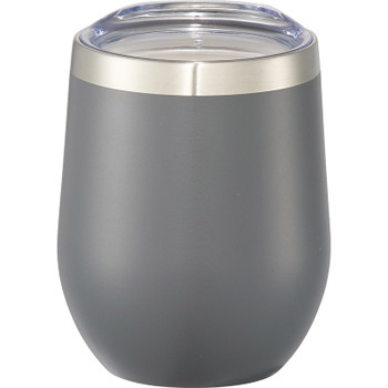 Gray - Corzo Copper Vacuum Insulated Cup 12oz | Hardgoods.ca