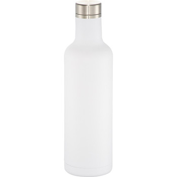 White - Pinto Copper Vacuum Insulated Bottle 25oz | Hardgoods.ca