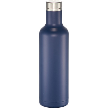 Navy - Pinto Copper Vacuum Insulated Bottle 25oz | Hardgoods.ca
