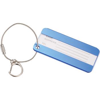 Blue - Aluminum Identification Tag   Hardgoods.ca