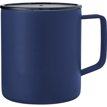 Navy - Rover Copper Vacuum Insulated Camp Mug 14oz | Hardgoods.ca