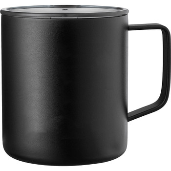 Black - Rover Copper Vacuum Insulated Camp Mug 14oz | Hardgoods.ca