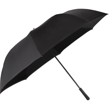 Black - 58'' Inversion Manual Golf Umbrella | Hardgoods.ca